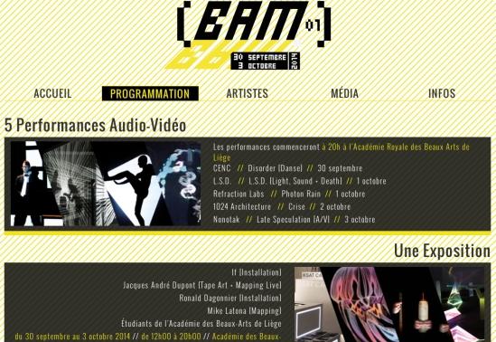 bam  site header